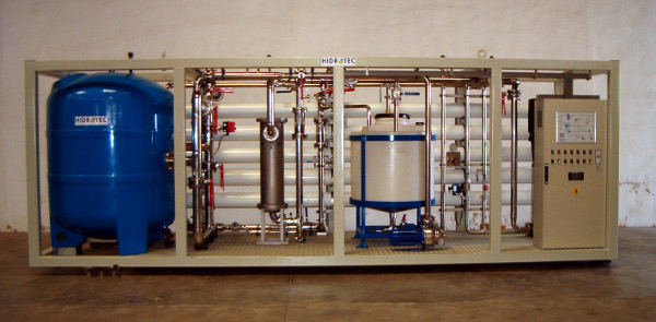 HIDROTEC, innovative water treatment technology and desalination process specialists